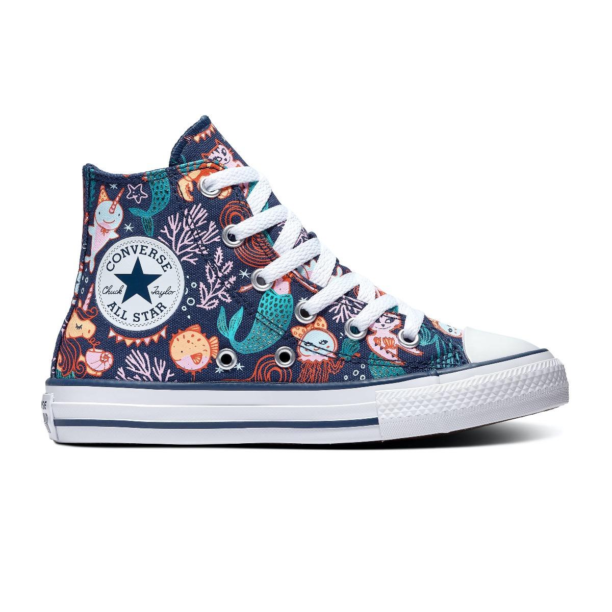 Blauwe Meisjes Converse Sneakers kopen? Vergelijk op Schoenen.nl