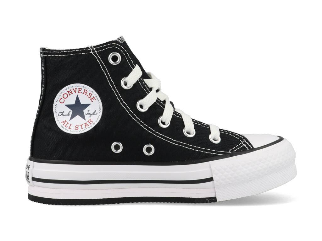 Converse All Stars Chuck Taylor Eva Lift-Hi 671107C Zwart-31.5 maat 31.5