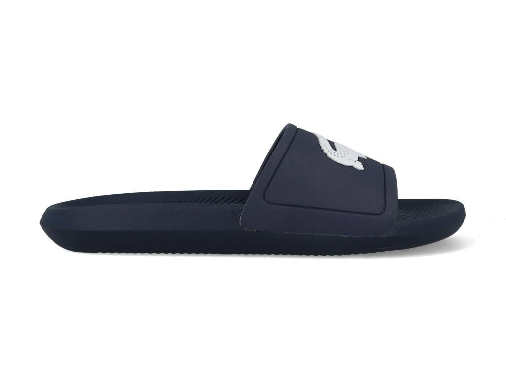 Lacoste Slippers Logo 7-37CMA0018092 Blauw - Wit maat