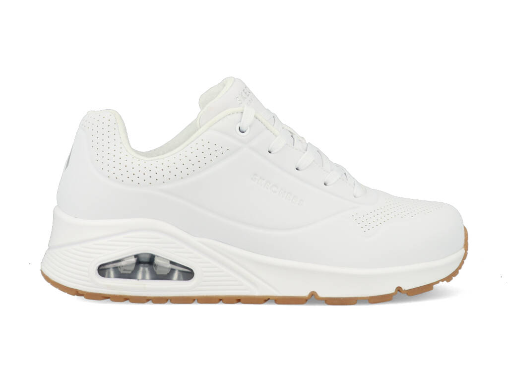 Skechers Uno Stand On Air 73690/WHT Wit maat