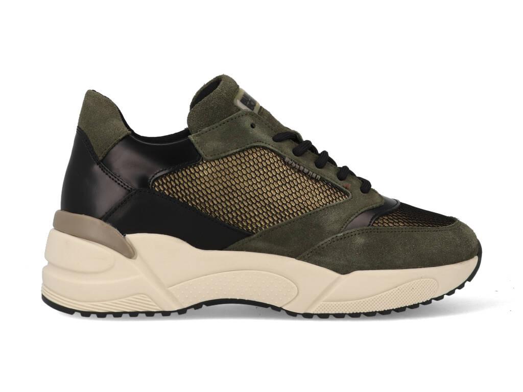 Bullboxer Sneakers 750010E5C_LTFR Groen / Zwart-40 maat 40