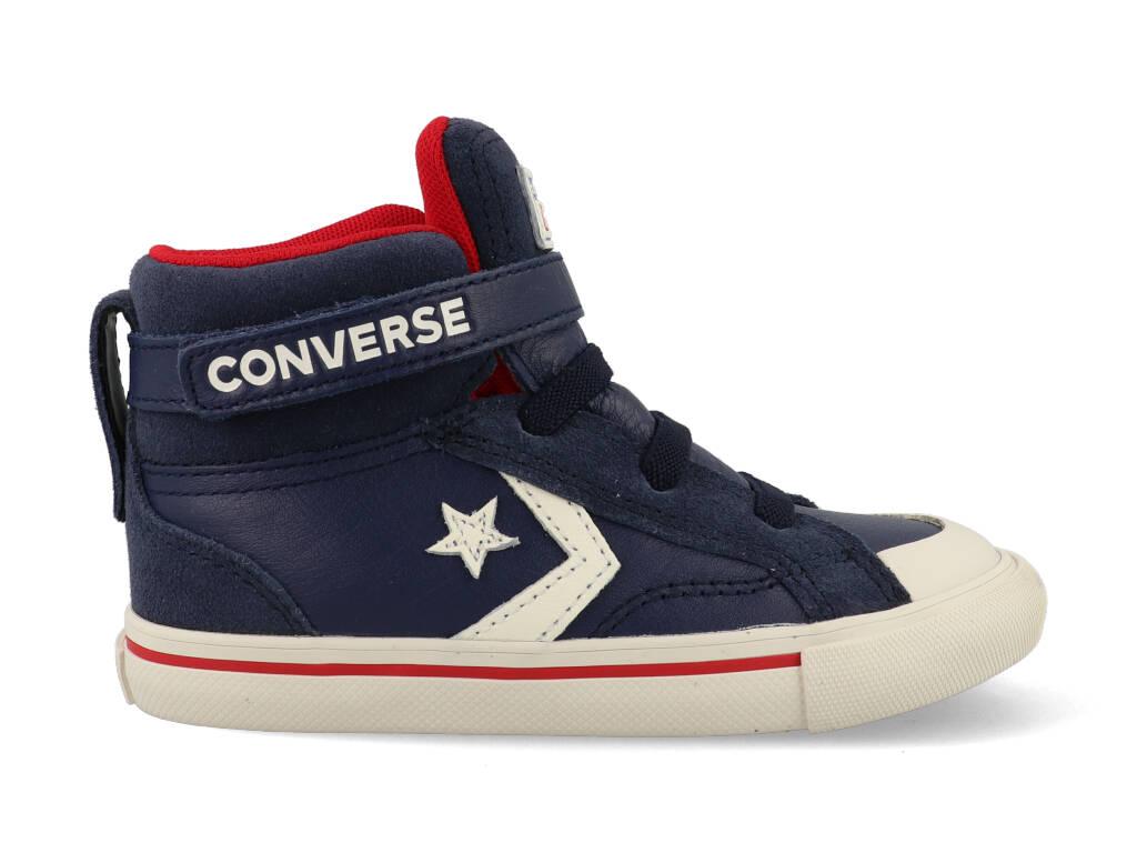 Converse All Stars Pro Blaze Strap Hoog 7674C Blauw / Rood / Wit
