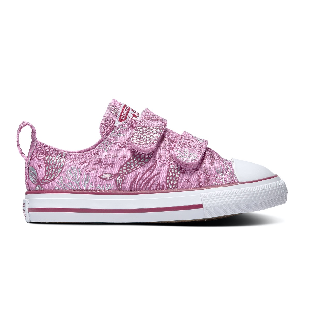 Converse All Stars Chuck Taylor 767205C Roze-18 maat 18