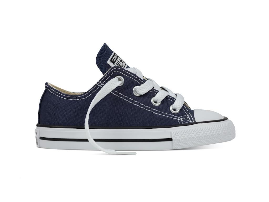 Converse All Stars Laag Kids 7J237 Navy Blauw-25 maat 25