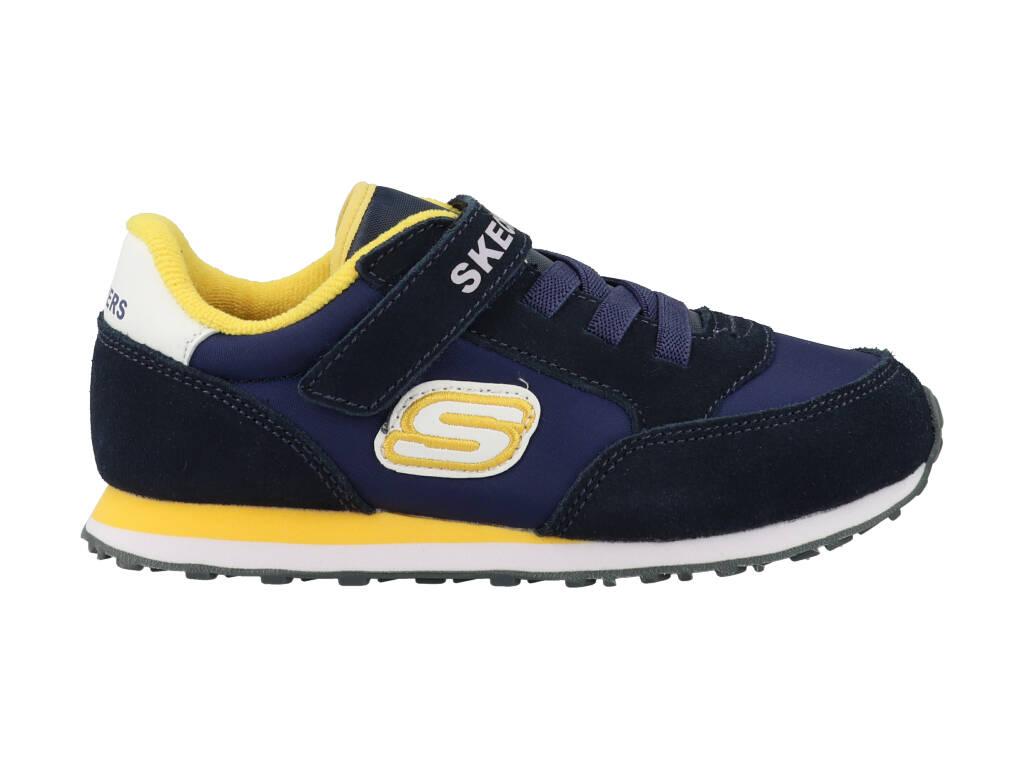 Skechers Gorvox 97366N/NVGD Blauw-25 maat 25