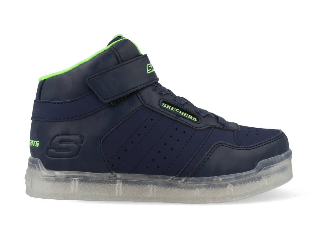 Skechers Lights Clamor 998224L/NVLM Blauw / Groen maat 30