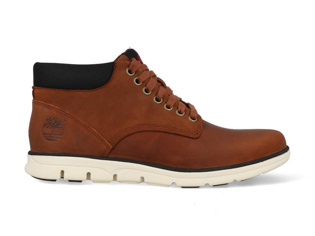 Timberland Chukka Leather Boots CA13EE Bruin Cognac maat 17