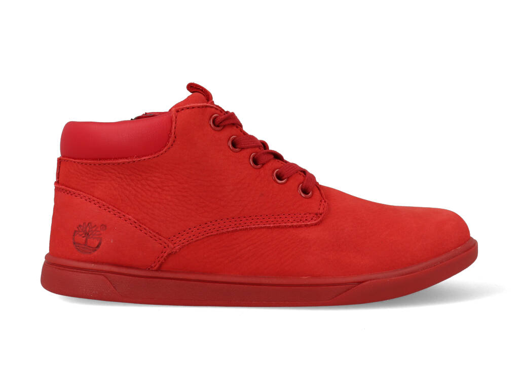 Timberland Groveton Leather Chukka A17MX Rood maat