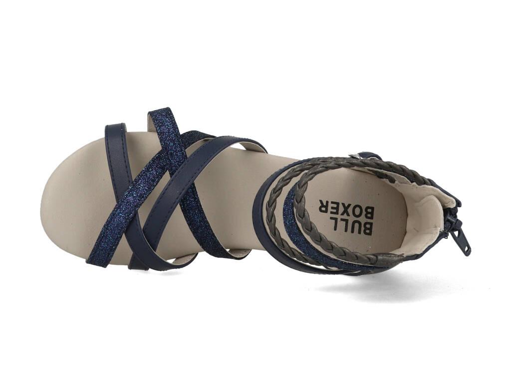 Bullboxer Sandalen AED009F1S_TTNM Blauw-39 maat 39