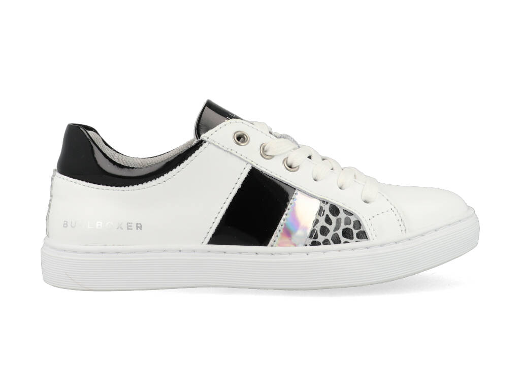 Bullboxer Sneakers AHM031E5L_WWBKKB10 Wit maat