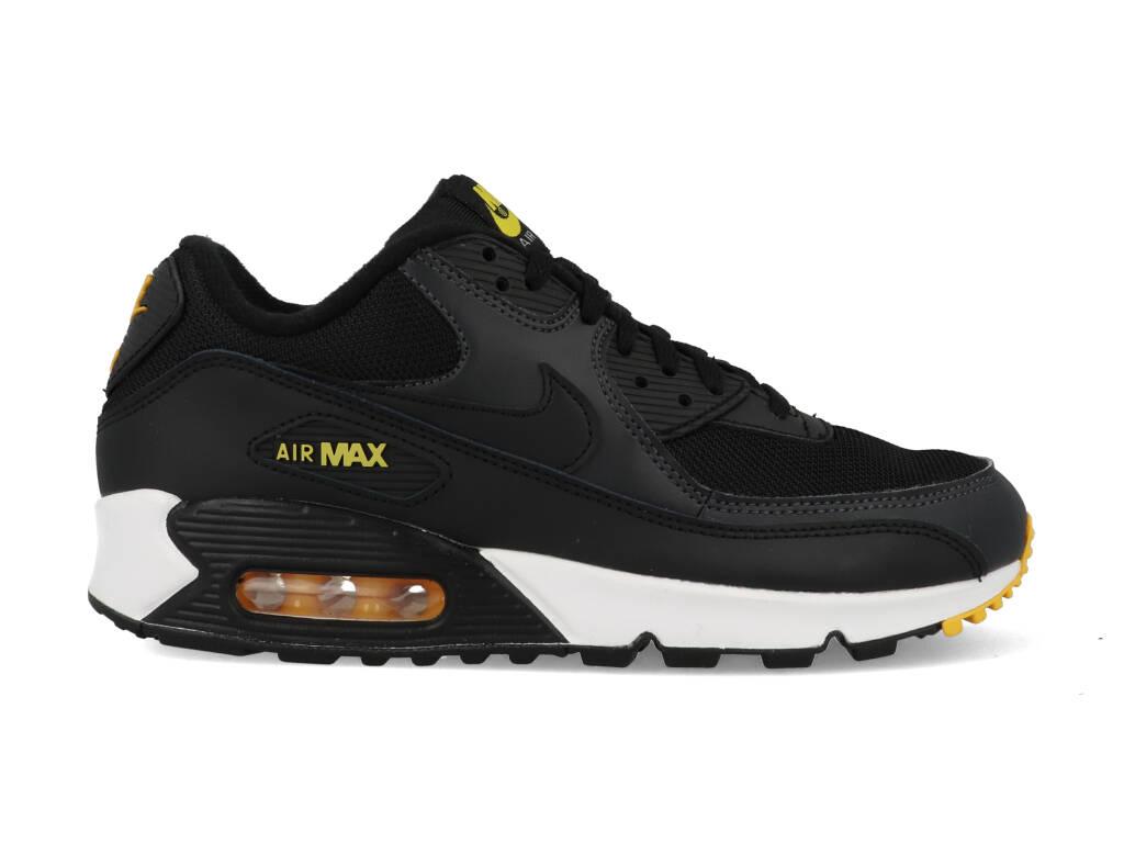 Nike Air Max 90 AJ1285-022 Zwart - Wit - Geel maat