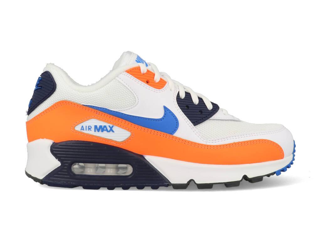 Nike Air Max 90 Essential AJ1285-104 Wit - Oranje maat