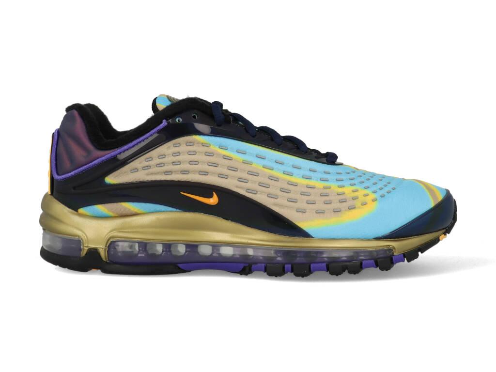 Nike Air Max Deluxe AJ7831-400 Blauw - Oranje maat