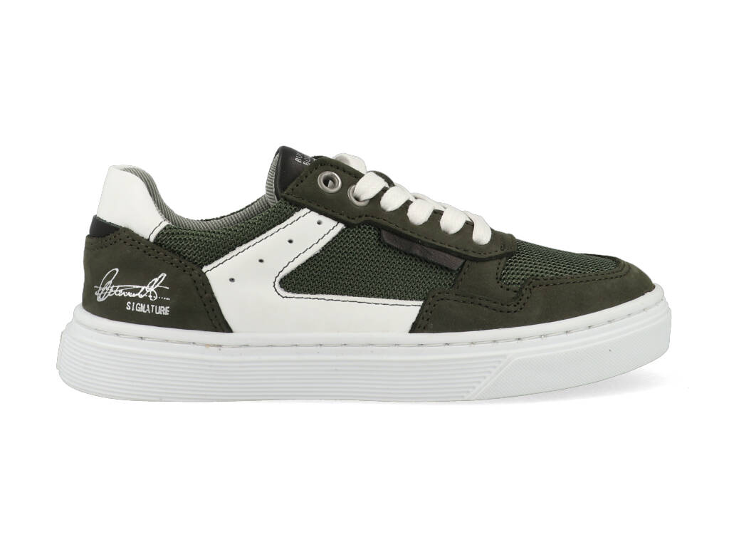 Bullboxer Sneakers AOP004E5L_DKOLKB60 Groen-32 maat 32