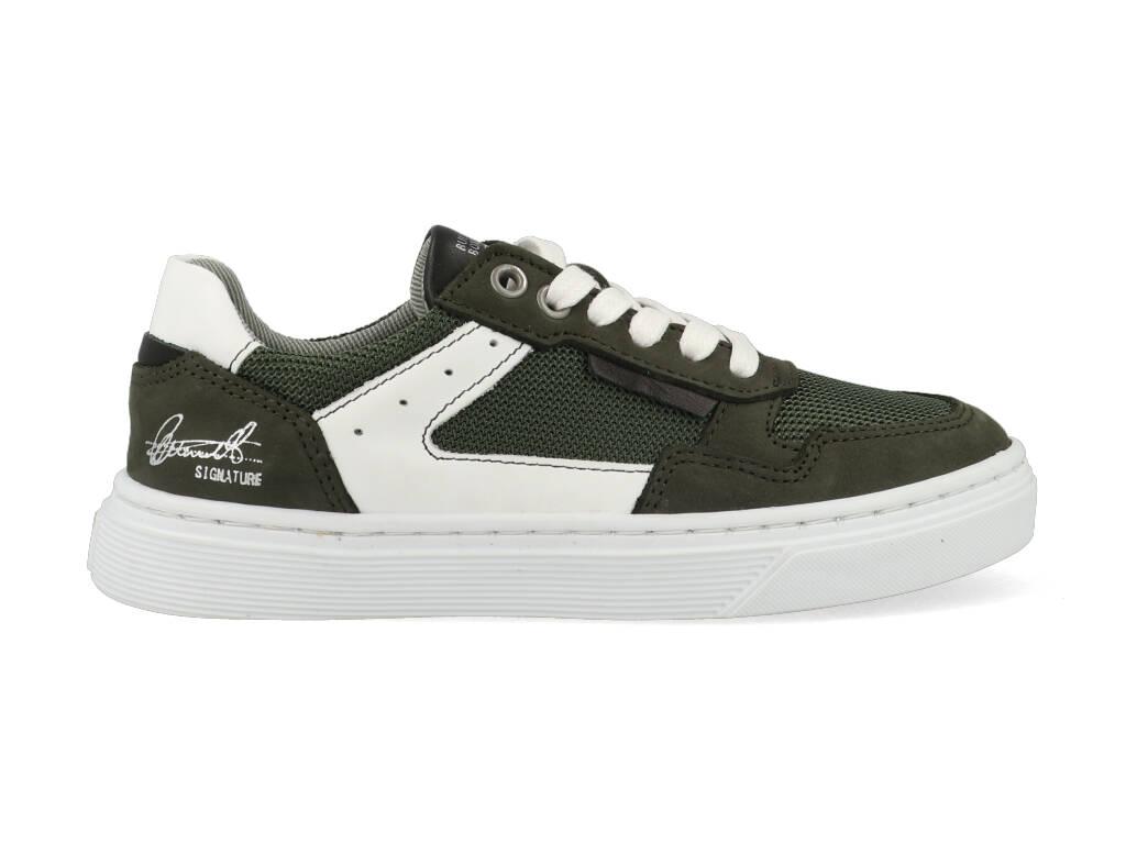 Bullboxer Sneakers AOP004E5L_DKOLKB60 Groen-33 maat 33