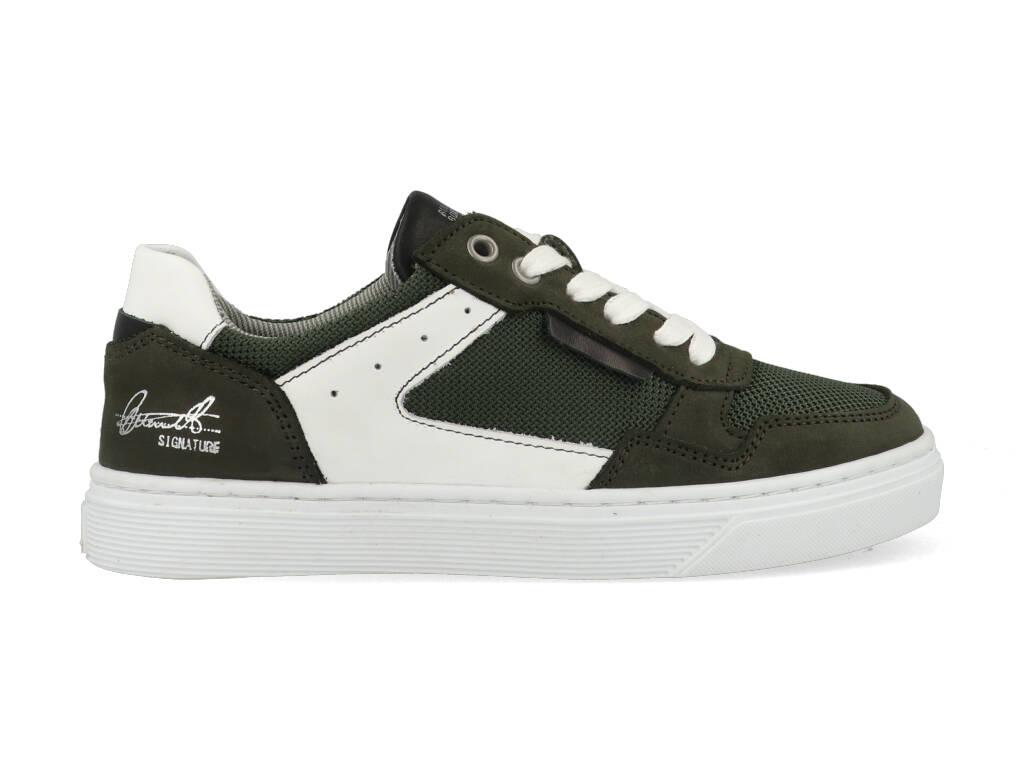 Bullboxer Sneakers AOP004E5L_DKOLKB40 Groen-34 maat 34