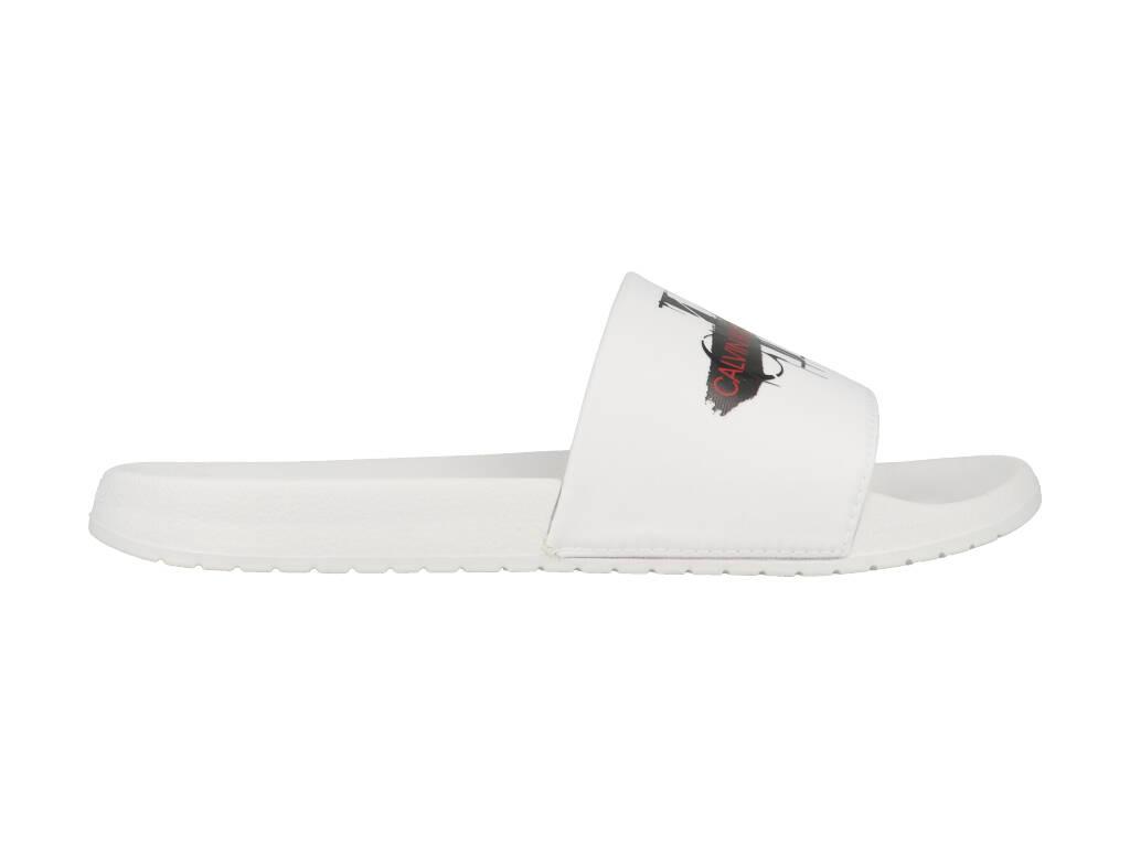 Calvin Klein Slippers Vial B450673 Wit maat