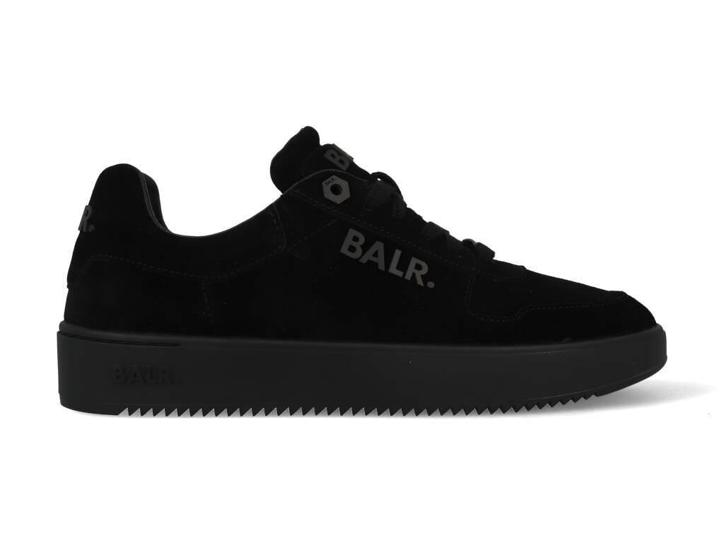 BALR Suede Metal Logo Sneaker