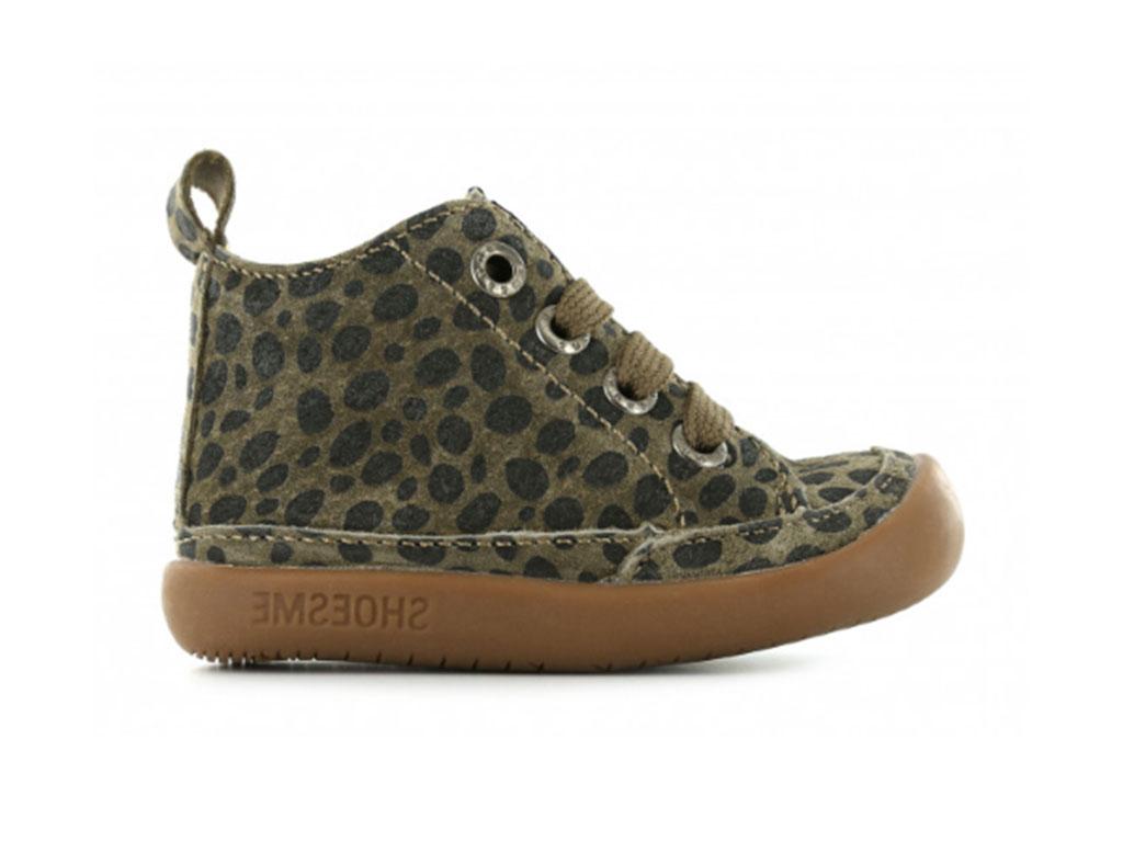 Shoesme Sneakers BF9W001-B Bruin maat 17