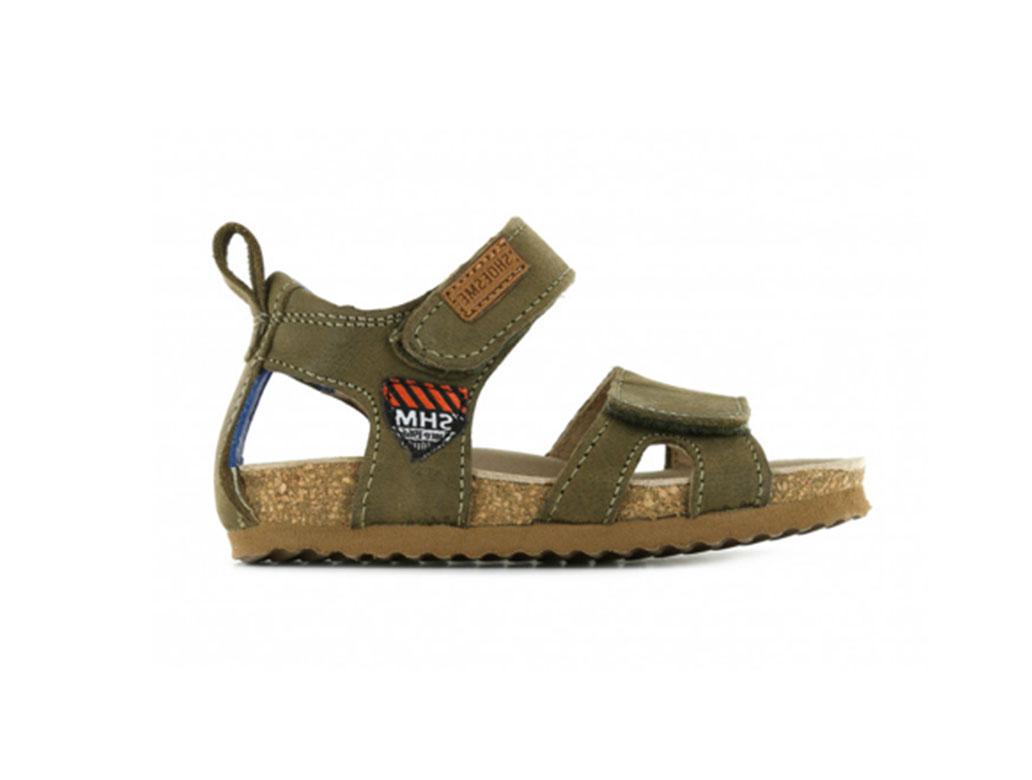 Shoesme Sandalen BI21S096-C Groen-21 maat 21