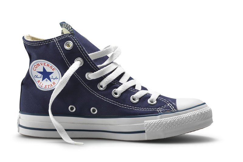 Converse All Stars Hoog Blauw