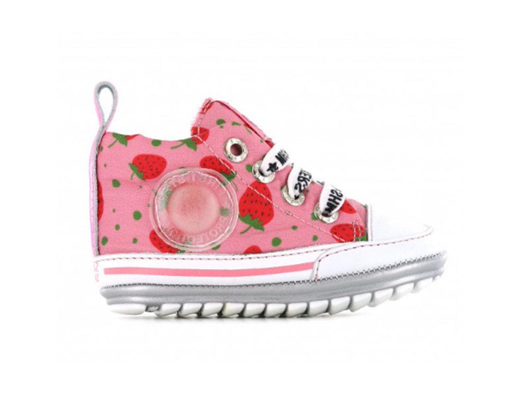 Shoesme Sneakers BP20S004-M Roze-21 maat 21