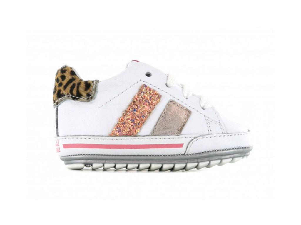 Shoesme Sneakers BP21S024-B Wit-20 maat 20
