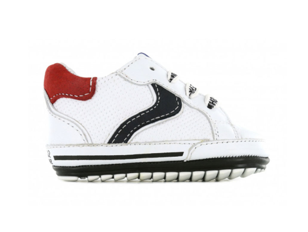 Shoesme Sneakers BP21S056-A Wit-19 maat 19