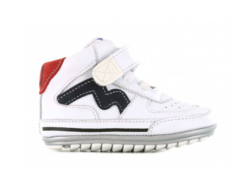 Shoesme Sneakers BP21S059-A Wit-19 maat 19