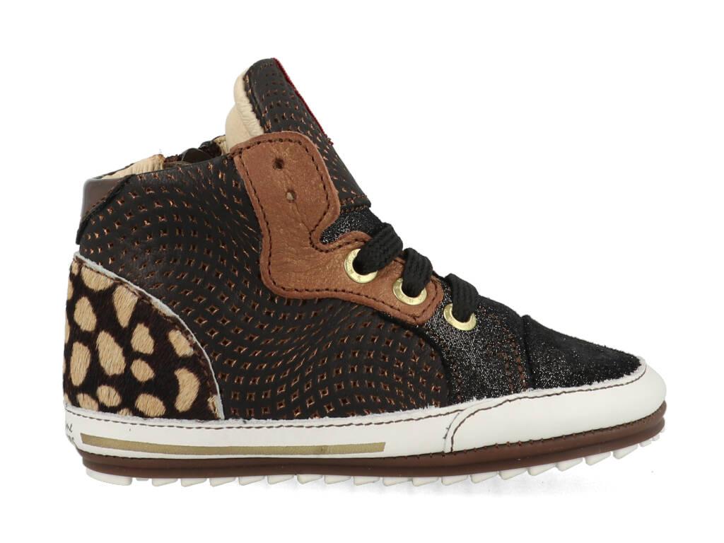 Shoesme Sneakers BP21W011-A Bruin maat