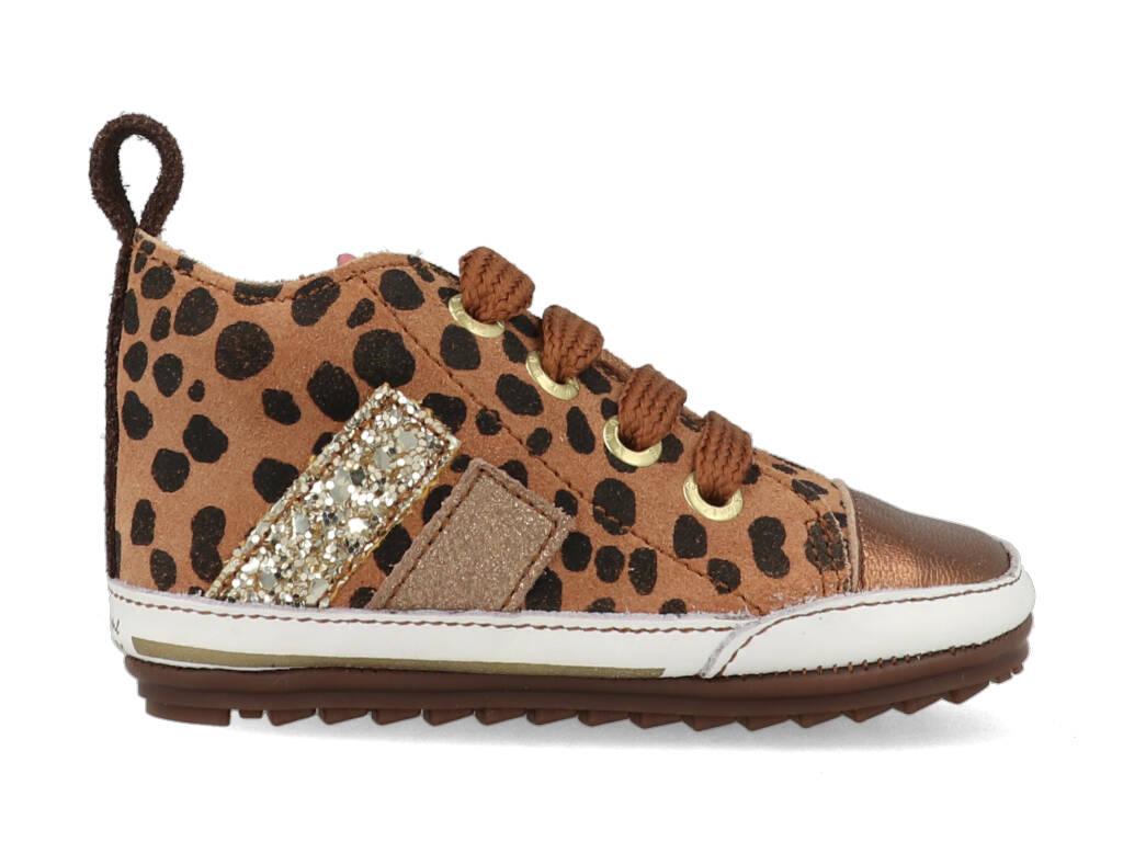 Shoesme Sneakers BP21W028-A Bruin maat