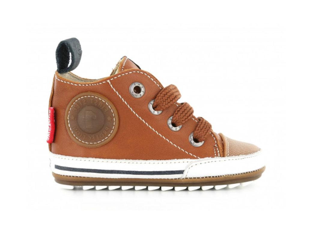 Shoesme Sneakers BP8S004-H Bruin maat