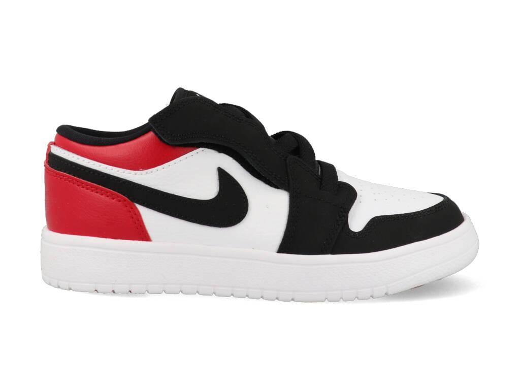 Nike Air Jordan 1 Low BQ6066 116 Zwart / Wit / Rood om te zoenen