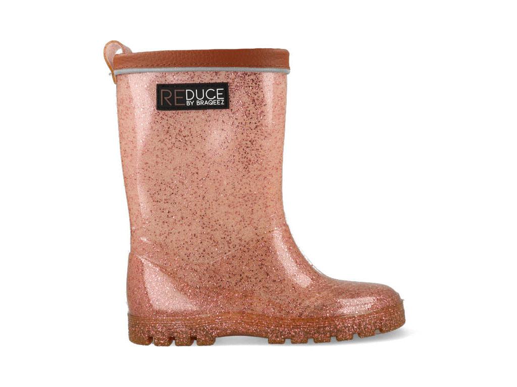 Braqeez Regenlaarzen Duurzaam RD120960-596 Roze maat