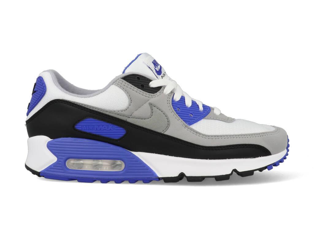 Nike Air Max 90 CD0881-102 Wit - Grijs - Blauw maat