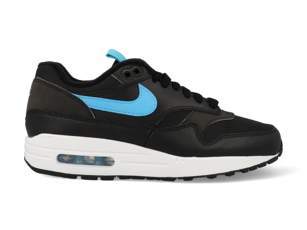 Nike Air Max 1 CD1530-001 Zwart - Blauw maat