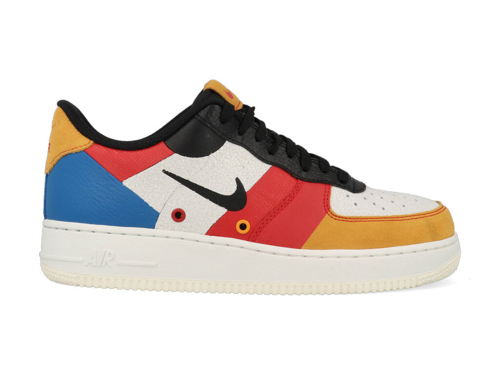 Nike Air Force 1 Low CI0065-101 Wit - Rood maat