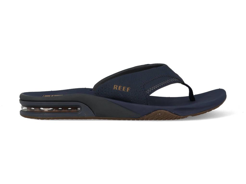 Reef Slippers Fanning Deep Seas CI2544 Blauw