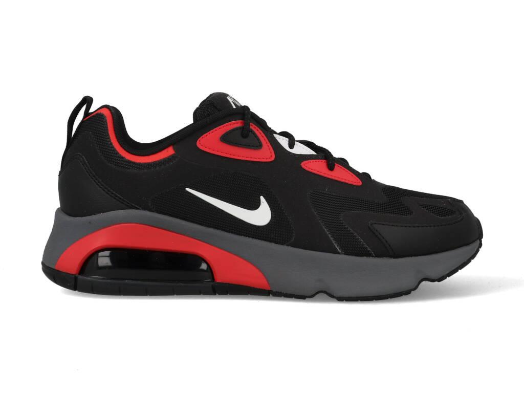 Nike Air Max 200 CI3865-002 Zwart / Rood-43 maat 43