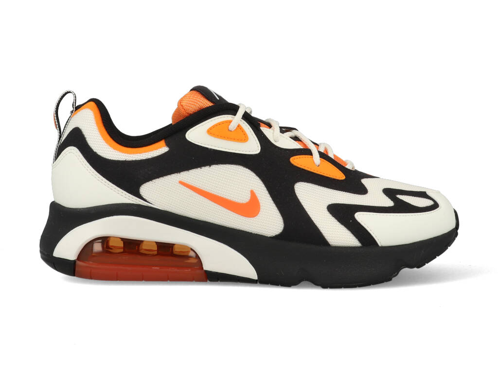 Nike Air Max 200 CI3865-004 Wit - Zwart - Oranje-44 maat 44