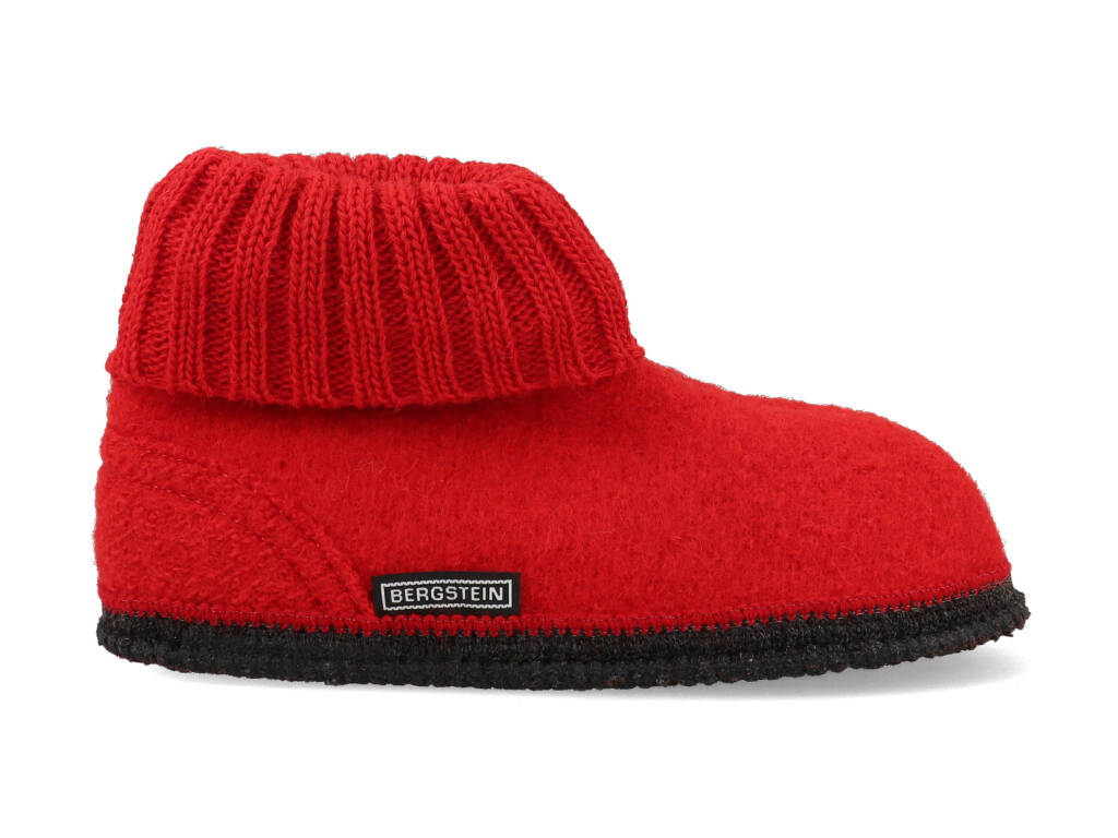 Bergstein Pantoffels Cozy 08 Rood