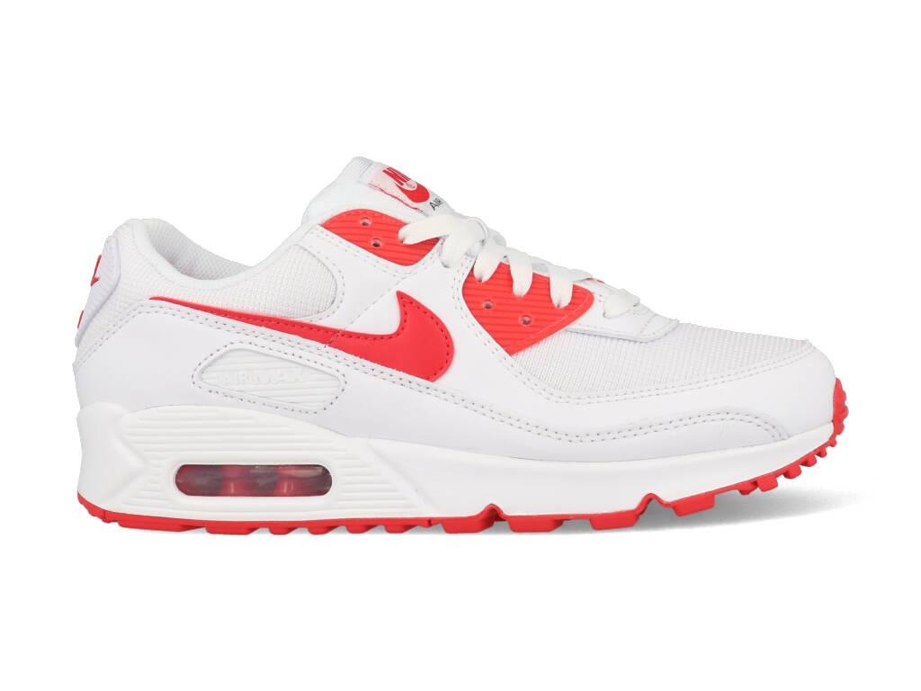 Nike Air Max 90 CT1028-101 Wit - Rood maat