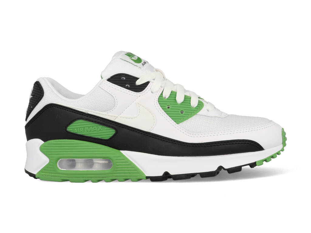 Nike Air Max 90 CT4352-102 Wit - Groen-41 maat 41