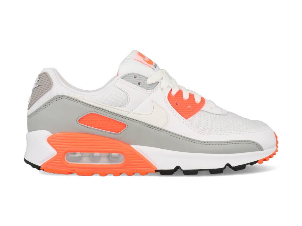 Nike Air Max 90 CT4352-103 Wit / Oranje-40 maat 40