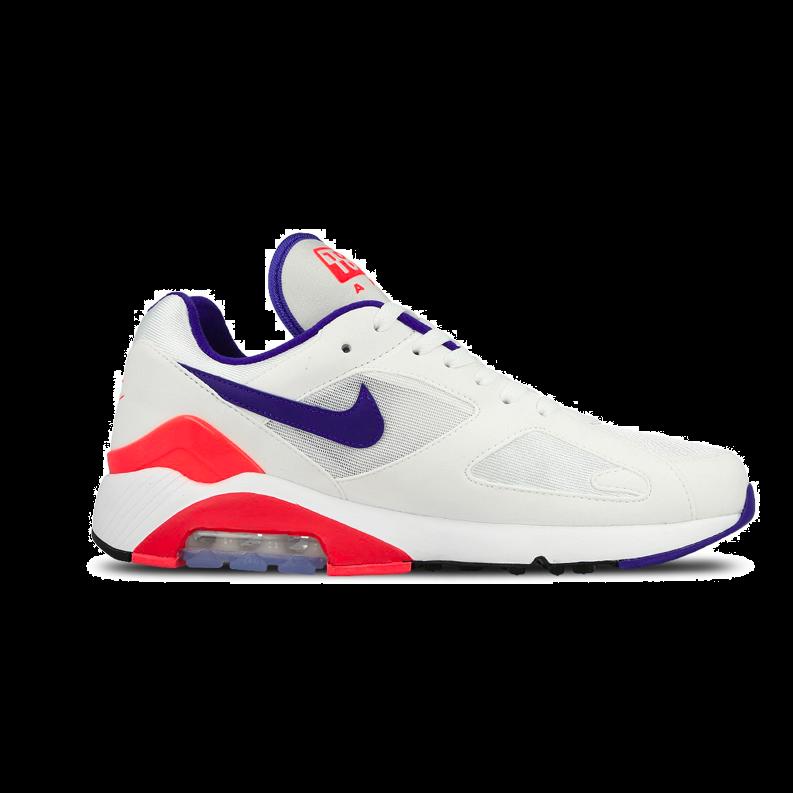 Nike Air Max 180 AH6786 100 Wit Blauw