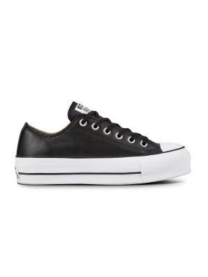 Converse All Stars Chuck Taylor Lift Clean 561681C Zwart / Wit