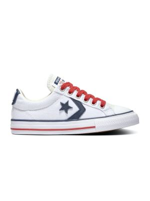 Converse All Stars Star Player 668013C Wit / Rood / Blauw