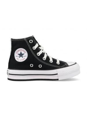 Converse All Stars Chuck Taylor Eva Lift-Hi 671107C Zwart