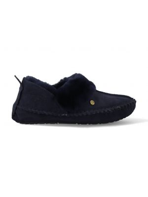 Warmbat Pantoffels Barrine BAR341045 Donker Blauw