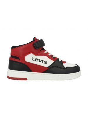 Levi's Sneakers BLOCK MID VEL T VIRV0013T Zwart / Rood